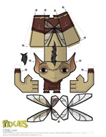 Papercraft-Pixies-Pixie